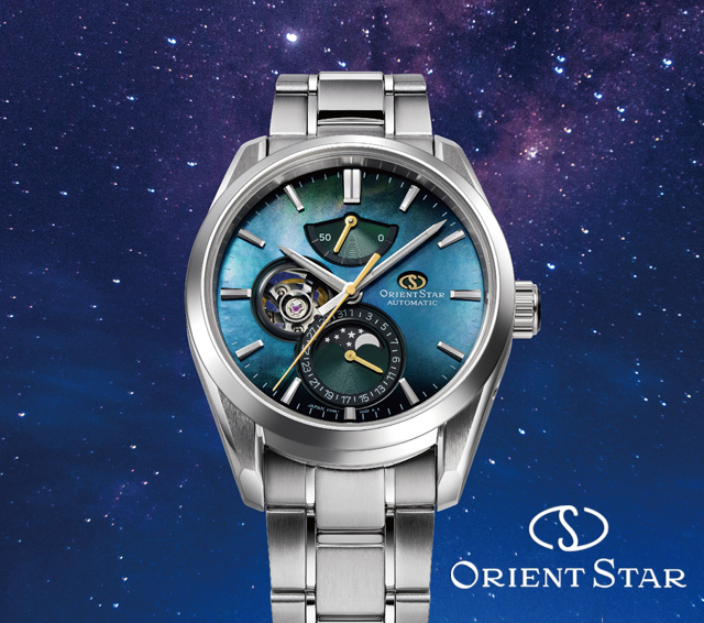 ORIENT STAR/MECHANICAL MOON PHASE