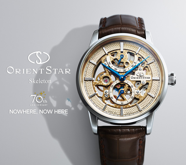 ORIENT STAR/SKELETON