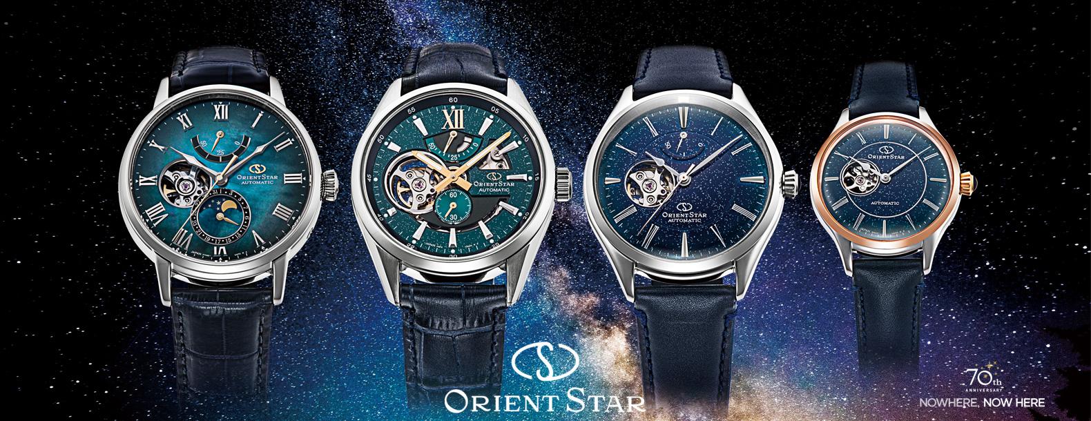 ORIENT STAR/オリエントスター70周年記念 特別限定モデル